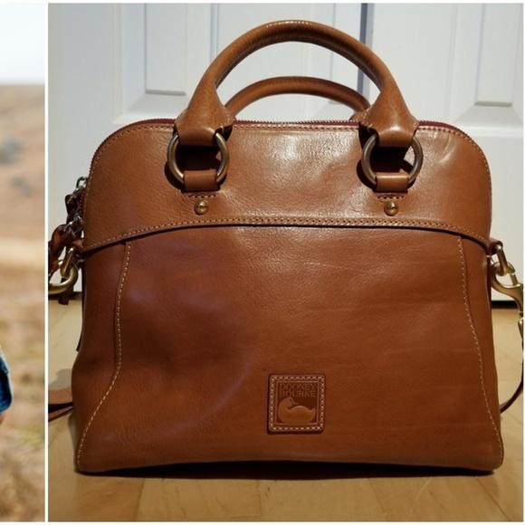5ec258b7a Dooney & Bourke Handbags - DOONEY & BOURKE FLORENTINE CAMERON SATCHEL  NATURAL